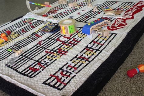 Musical Play Mat by The Corner The State Library Of Queensland Brisbane
