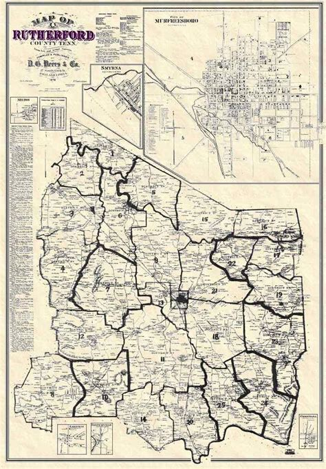 15 best Rutherford County Maps images on Pinterest | Maps ... Rutherford Co