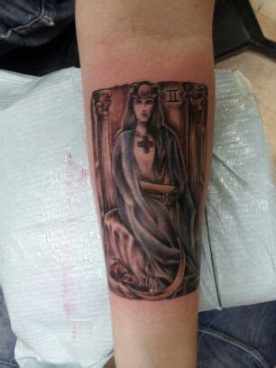 high priestess tattoo the major arcana in depth ii the high priestess tarot
