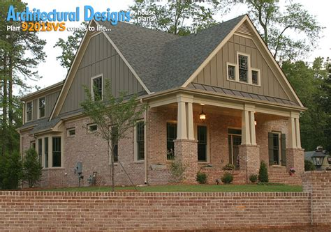 Narrow Lot Craftsman House Plans by Architectural Designs House Plan 921018vs Narrow Lot