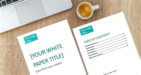 layout of strategy paper download our white paper template to kick start your