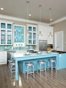 Beach Kitchen Design by Coastal Kitchen Afreakatheart