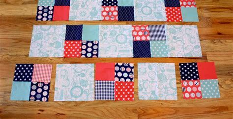 Quilting Squares by Fast Four Patch Quilt Tutorial Diary Of A Quilter A