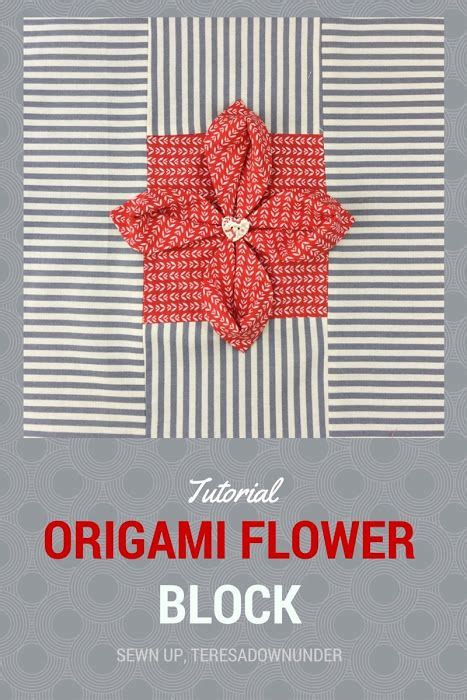 origami quilt tutorial 52 best quilt it textured blocks images on pinterest