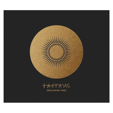 Taeyang Album Vol 2 Rise taeyang 태양 vol 2 rise album 233 dition cor 233 enne