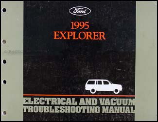 electric and cars manual 1995 ford f series navigation system 1995 ford explorer electrical and vacuum troubleshooting manual