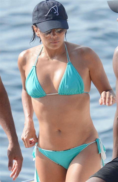 Longoria Wears Bikinis by Longoria Wearing A On A Yacht In Italy Celebzz