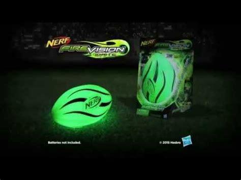 nerf light up football commercial 2015 nerf vision ignite football