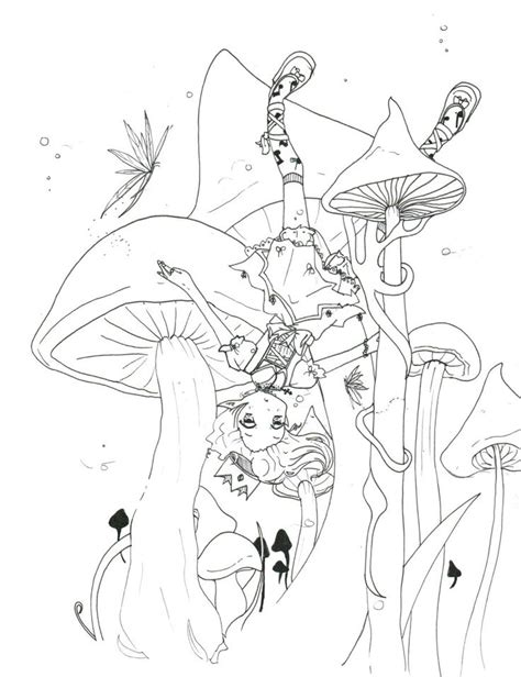 abstract mushrooms coloring pages free coloring pages of mushroom drawing