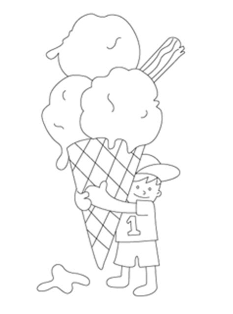 summer ice cream coloring pages summer coloring pages mr printables