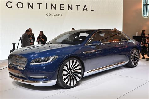 Lincoln Continental New by Lincoln Continental Concept New York 2015 Autoblog 日本版
