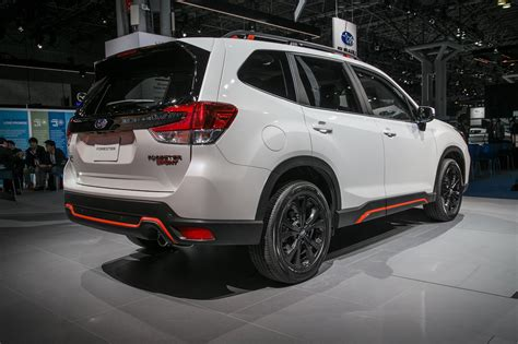 subaru forester 2019 2019 subaru forester first look ready for the cr v and