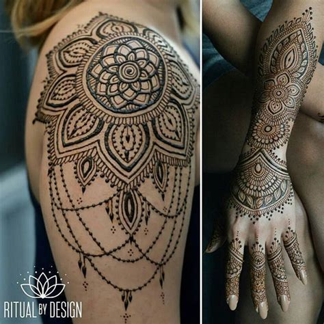 henna tattoo designs shoulder and arm 36 best simple half sleeve shoulder for