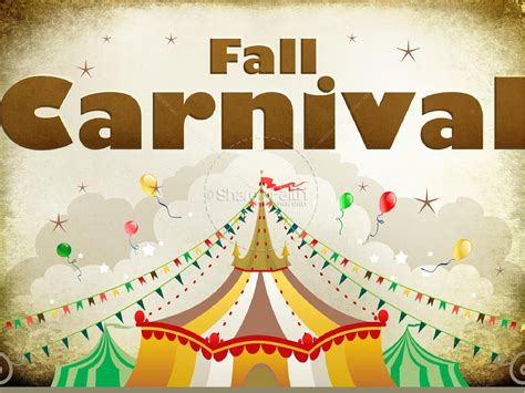 powerpoint themes carnival fall carnival powerpoint
