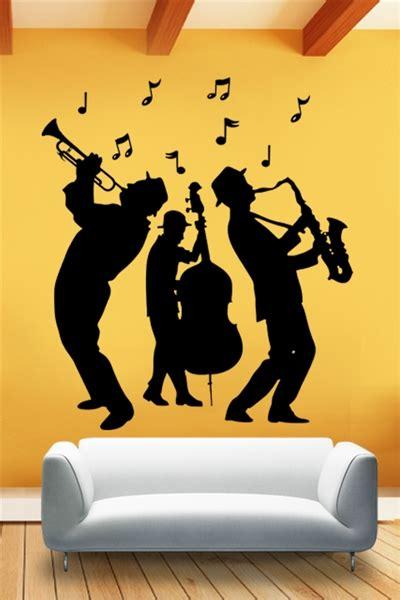 jazz group concert decal musicians wall decals home wall decals jazz band walltat com art without boundaries