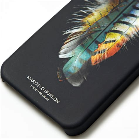 Marcelo Burlon 4 Tpu For Iphone 5 5s Se marcelo burlon wing feather tpu for iphone 5 5s se black jakartanotebook
