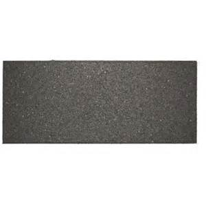 Rubber Stair Treads Home Depot by Envirotile 10 In X 24 In Flat Profile Gray Black Stair
