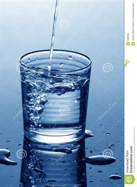 What To Fill Glass With Water Glass Filling Royalty Free Stock Image Image 3998286