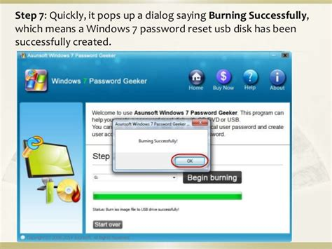 windows password reset on usb 2 ways to create a windows 7 password reset usb disk