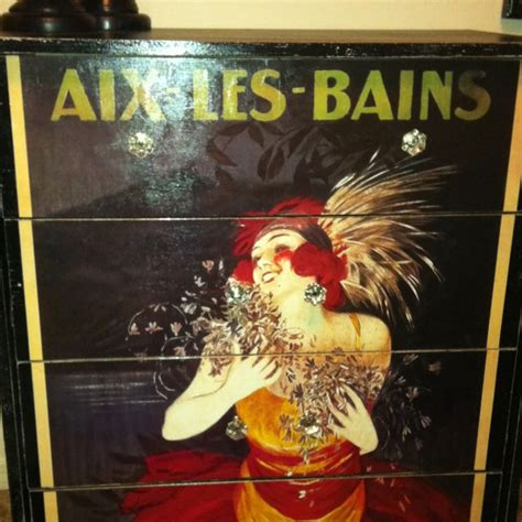 Decoupage Poster To Wood - 17 best images about furniture decoupage on