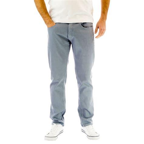 Casual Denim Pant mens crosshatch walkden slim stretch casual