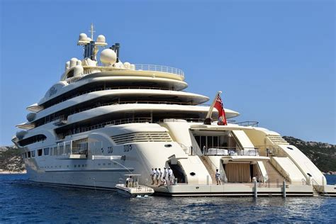 yacht dilbar dilbar 156 meter private yacht world s largest by