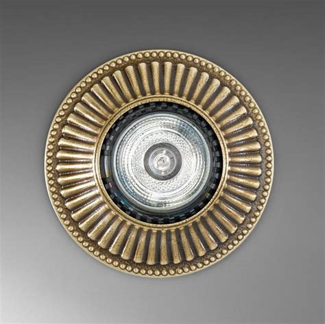 Kitchen Faucet Pfister by Kolarz Milord Recessed Downlight Antique Brass 0297