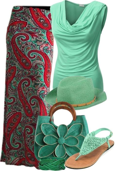 35 pretty maxi skirt polyvore combinations this