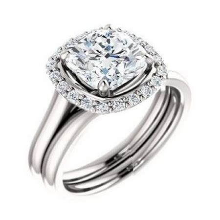 10 Signs Its A Bad Engagement Ring by 1m 14k White Gold 1 2 Ct 1 10 Ct Accent