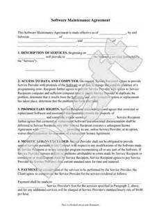 Software Service Agreement Template Software And Templates On Pinterest