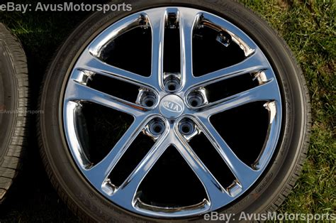 Kia Wheels 2013 Kia Optima Sxl 18 Quot Chrome Factory Oem Wheels Tires