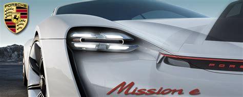 Porsche Zubehör by Porsche Mission E Echte Konkurrenz F 195 188 R Den Tesla S