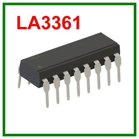 La3361 La 3361 Electronic Components La3361 Pll Fm Stereo Demod
