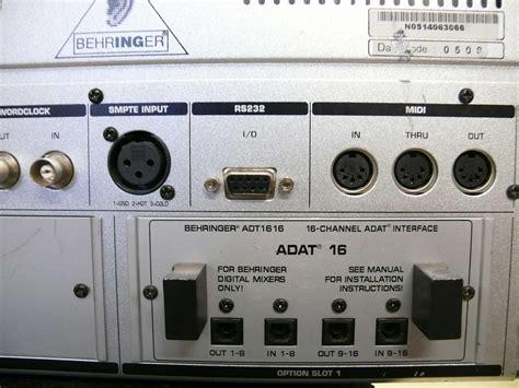 Mixer Digital Behringer Ddx3216 behringer ddx3216 image 345805 audiofanzine