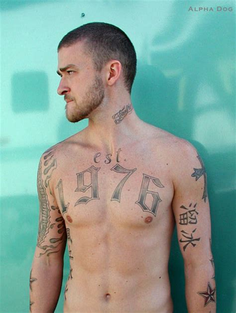 justin timberlakes tattoos temporary tattoo blog