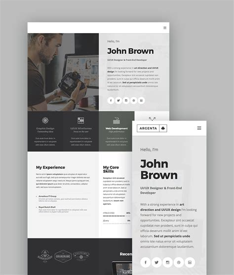 wordpress acf layout 15 best wordpress portfolio themes for creatives
