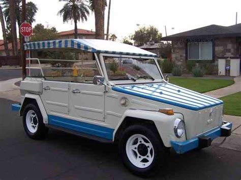1974 volkswagen thing 1974 volkswagen thing for sale on classiccars com