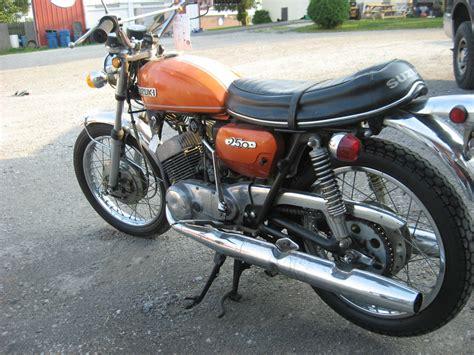 Suzuki T250 Parts Unrestored 1971 Suzuki T250 Hustler Gt Unmolested