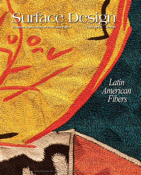 surface design journal back issues surface design journal fall 2013 sle issue by