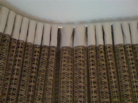 kirsch drapery track ripple fold heading on ceiling mounted track curtain couture