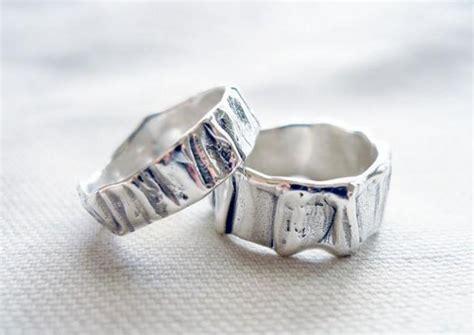 unisex wedding band set matching wedding bands