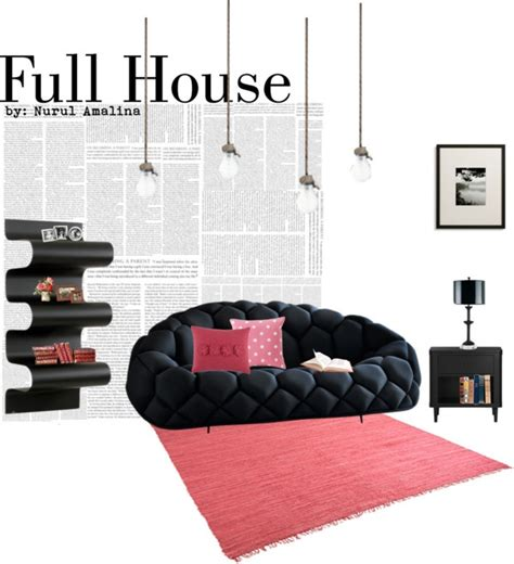full house couch quot full house quot by nurulamalina on polyvore living quarters