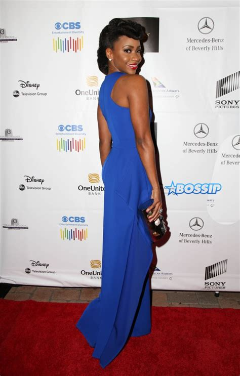african american red carpet looks teyonah parris attends the af am film critics association
