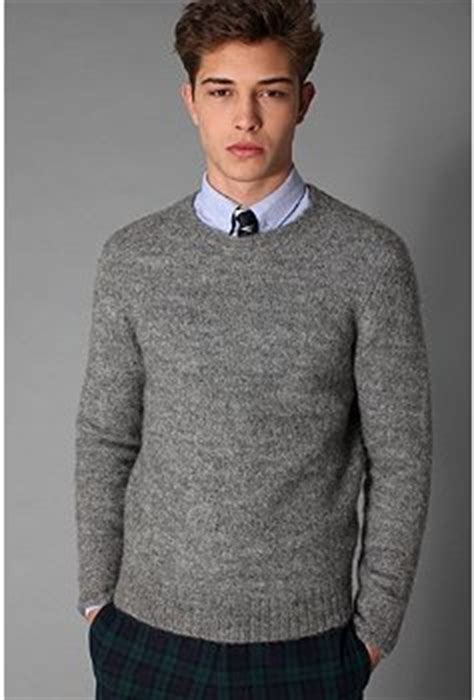 Tie Neck Collar Sweater tie and jumper oddness singletrack magazine