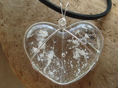 Cremation Jewelry Memorial Heart Ashes InFused Handmade Glass