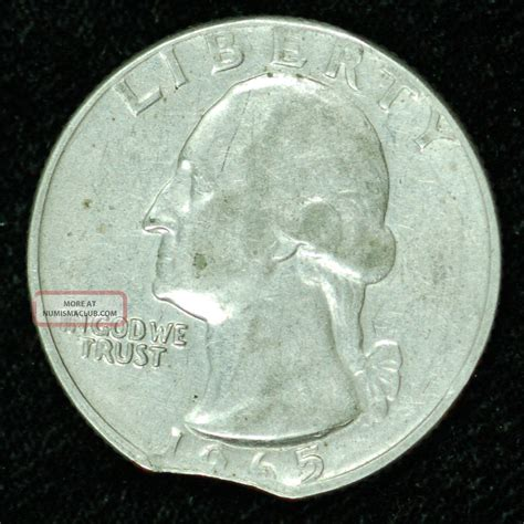 how much is a 65 quarter worth 1965 how much is a 1965 quarter worth how much is a 1965 quarter worth clipped 1965 washington quarter in au neat error