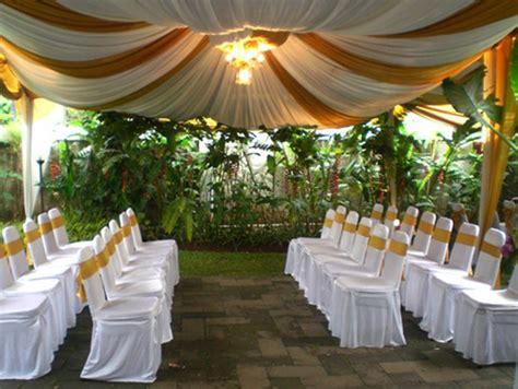 Wedding Organizer Untuk Di Rumah by Peralatan Pesta Dan Tata Rias Pengantin Wedding Organizer