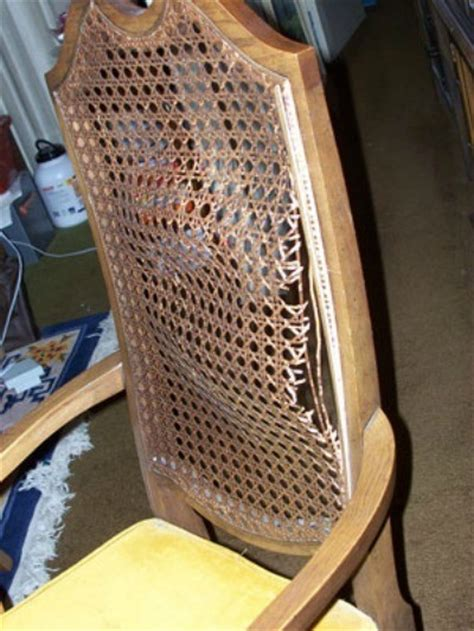 replacing wicker back chairs repairing chairs thriftyfun