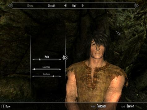 skyrim male hair mod male hair tutorial at skyrim nexus mods and community