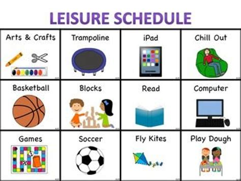 themes in education for leisure best 25 schedule board ideas on pinterest family